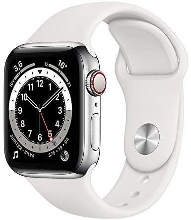 Apple Watch S6 44mm- Preto/Prata/Azul - 12X Sem Juros - Foto 2