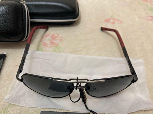 Óculos de Sol Polarizado KingSeven Original  - Foto 3