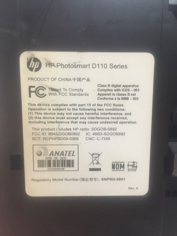 Impressora HP  D110 - Foto 4