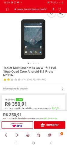 Tablet Multilaser original 16giga