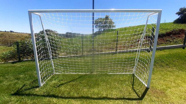Trave de futebol mod. futsal - Foto 3