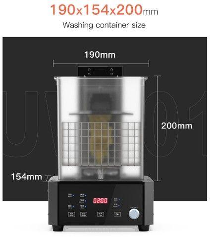 Máquina de Lavagem e Cura Creality 3D UW-01 - Foto 4