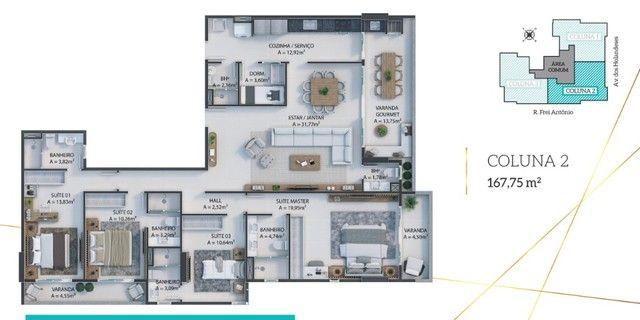 LP06 | Residencial D Algarve - 162m² e 4 Suítes na Ponta D?Areia - Foto 18
