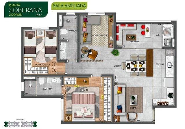 JAC/ Belíssimo lançamento da Mvituzzo no Parque Industrial, apartamentos com 2 e 3 dorms.