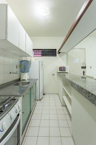 Flat 305 tipo studio, hospeda 03 pessoas, sendo uma cama de casal mais 01 cama de solteiro - Foto 10