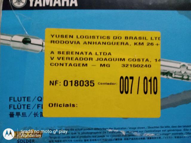 Flauta Yamaha novinha . - Foto 5
