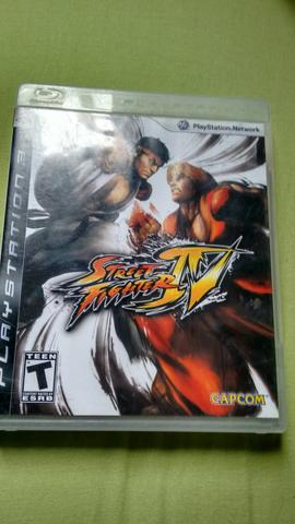 Street fighter IV ( jogo ORIGINAL) ps 3