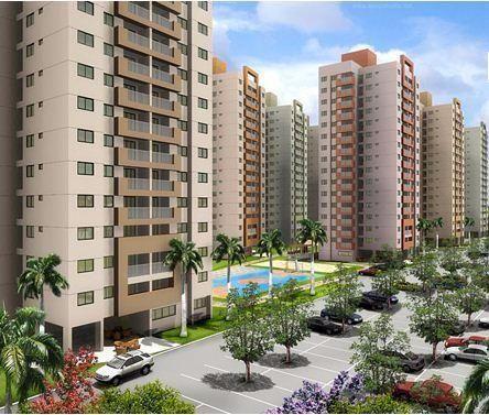 Apartamento com 3 quartos em Nova Parnamirim