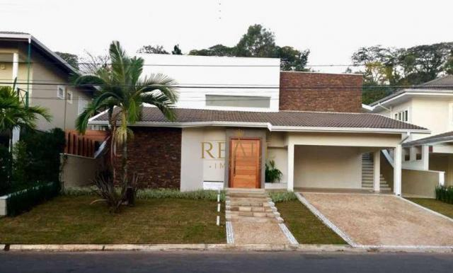 Casa residencial à venda, Condomínio Jardim Paulista I, Vinhedo - CA0968.