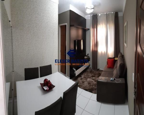Apartamento à venda com 2 dormitórios em Residencial civit a2, Serra cod:AP00147 - Foto 3