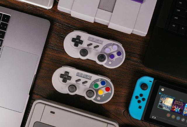 8Bitdo SF30 Pro Controller Windows, macOS, Linux, PS4, Xbox One & Nintendo  Switch