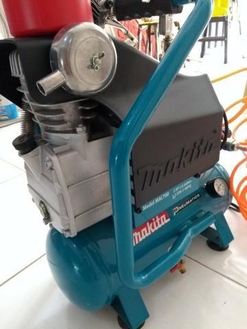 Compressor de ar Makita mac 700 - com acessórios (220v) R$ 1.100,00 - Foto 3