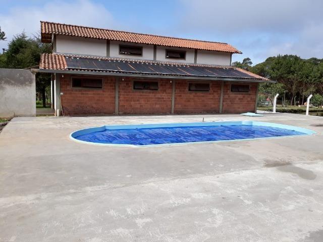 Chácara de cinema/piscina/825m2/área construída/600m/BR 376/ 35km de/SJP/R$1.335.000, - Foto 12