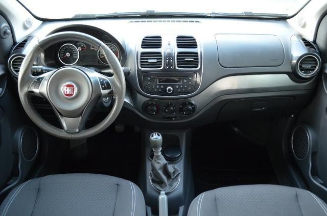 Fiat Grand Siena attractive 14 flex 4p manual * completo*63.000 km - Foto 3