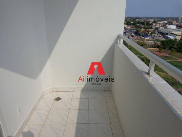 Apartamento com 3 dormitórios para alugar, 82 m² por r$ 1.850,00/mês - 7º bec - rio branco - Foto 4