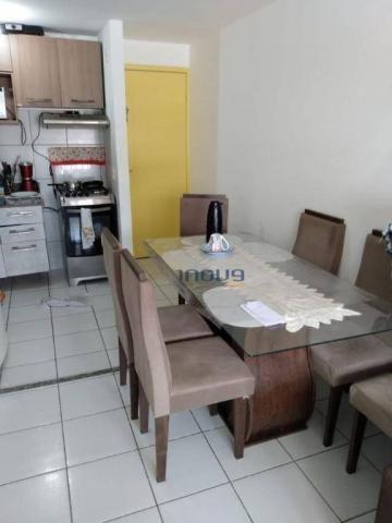 Apartamento com 3 dormitórios à venda, 55 m² por r$ 239.990,00 - maraponga - fortaleza/ce - Foto 2