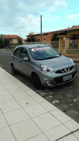 Nissan march 2015 1.0 completo