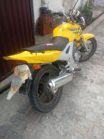 Vendo ou troco por carro moto Twist 2008 - Foto 6