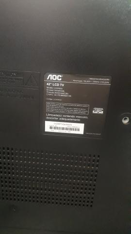 Vendo TV LCD 42' aoc - Foto 2
