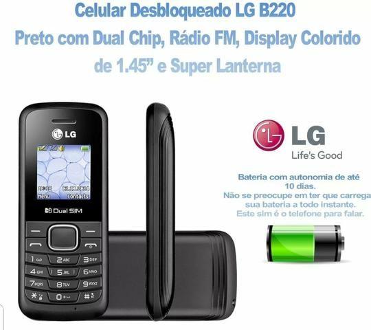 Celular Lg B220 Dual Sim Radio Fm Lanterna (Loja Física) - Foto 3
