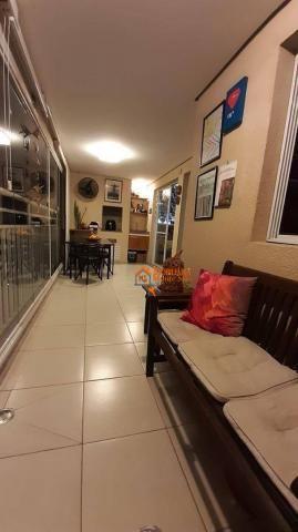 Apartamento com 3 dormitórios à venda, 93 m² por R$ 636.000,00 - Vila Augusta - Guarulhos/ - Foto 3