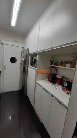 Apartamento com 3 dormitórios à venda, 93 m² por R$ 636.000,00 - Vila Augusta - Guarulhos/ - Foto 5