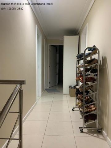 Excelente casa com 5/4, pronta para morar, em condomínio fechado, lazer e portaria 24 hs. - Foto 17