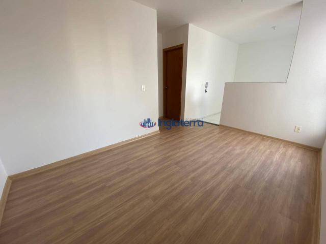 Apartamento com 2 dormitórios para alugar, 47 m² por R$ 600,00/mês - Jardim Morumbi - Lond - Foto 3