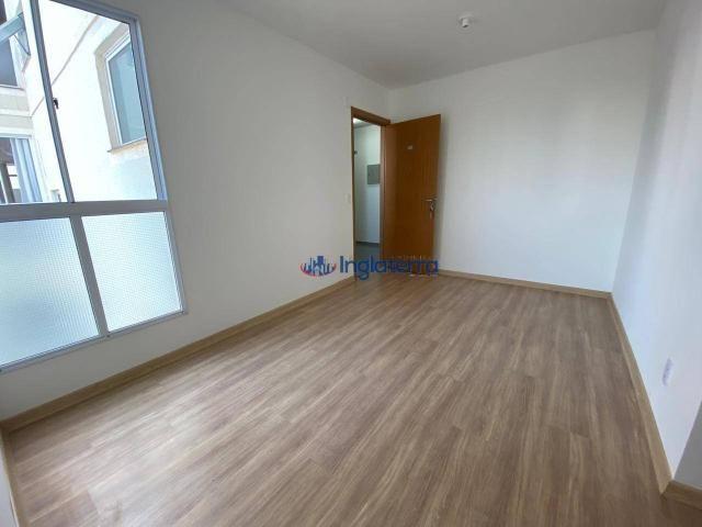 Apartamento com 2 dormitórios para alugar, 47 m² por R$ 600,00/mês - Jardim Morumbi - Lond - Foto 2