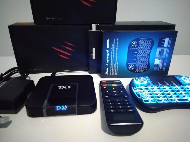 Tv box tx9 ou tx3 mini r$180,00