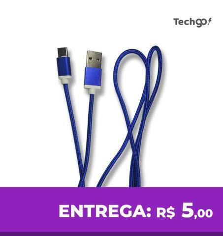 Cabo para Celular S8 S9 A9 USB Tipo C Rápido 2.0a Inova