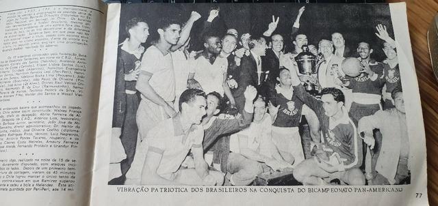 Fascículos A História Da Seleção Brasileira - Edição De 1971 - Foto 2