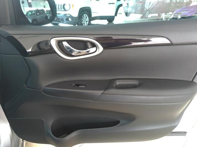 Somente hoje!!! Nissan Sentra SV 2.0 FlexStart Autom. 2019. IPVA 2020 GRÁTIS - Foto 11