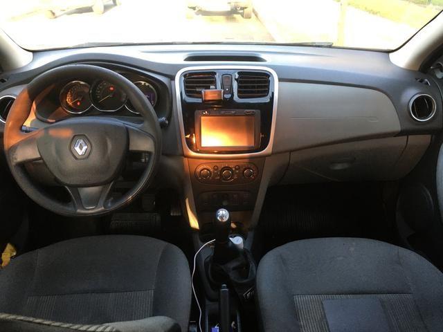 Renault Logan 2014 - com ar condicionado - Foto 7