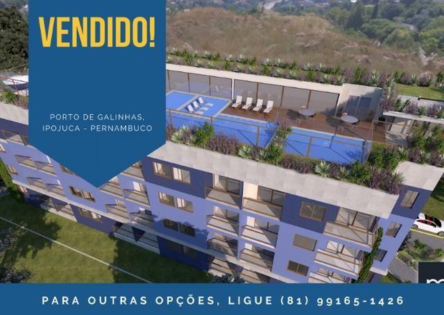 DMR - Flat no centro de Porto de Galinhas 1 ou 2 quartos para morar ou investir