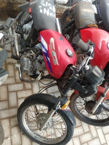 Honda Cg 125 burrao today ML S u c a t a de leilão, inteira e original - Foto 6