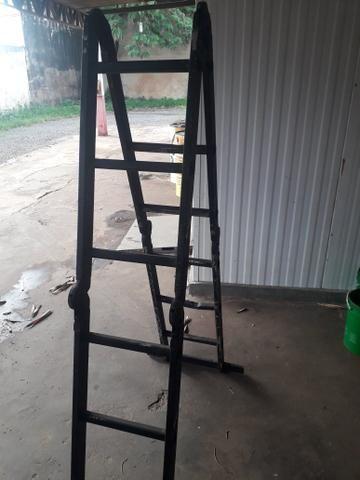 Vendo escada multifuncional de 4 metros