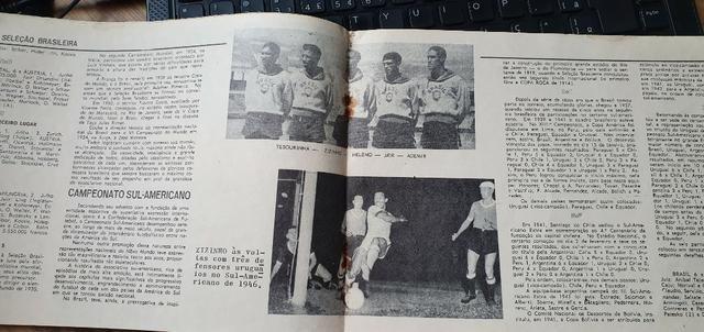 Fascículos A História Da Seleção Brasileira - Edição De 1971 - Foto 4