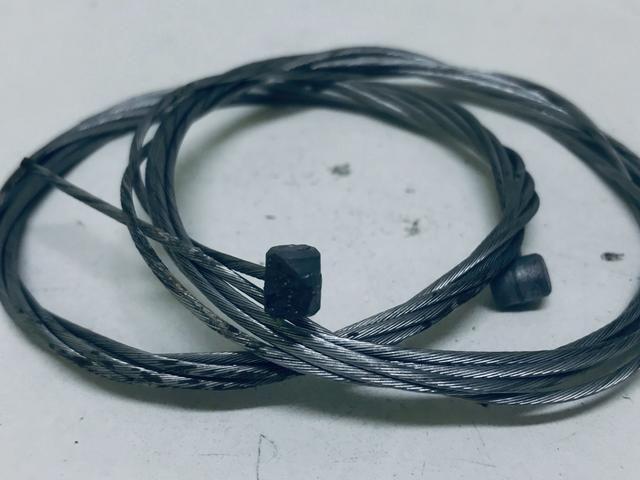 Par de cabos de freios (NOVOS) - Foto 4