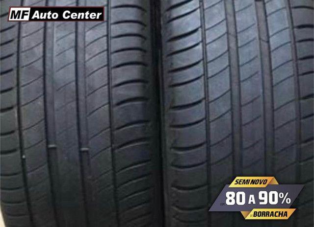 ?Pneus semi novos 205/55-16 Bridgestone - Foto 6