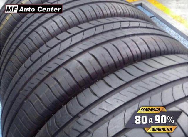 ?Pneus semi novos 205/55-16 Bridgestone - Foto 9