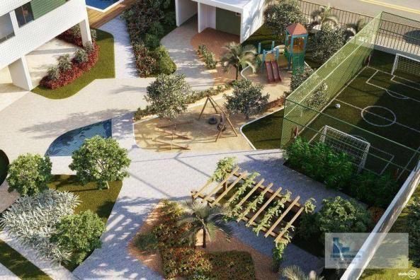 Apartamento com 3 dormitórios à venda, 64 m² por R$ 340.330,00 - Barro - Recife/PE - Foto 13