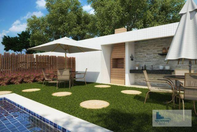 Apartamento com 3 dormitórios à venda, 64 m² por R$ 340.330,00 - Barro - Recife/PE - Foto 2