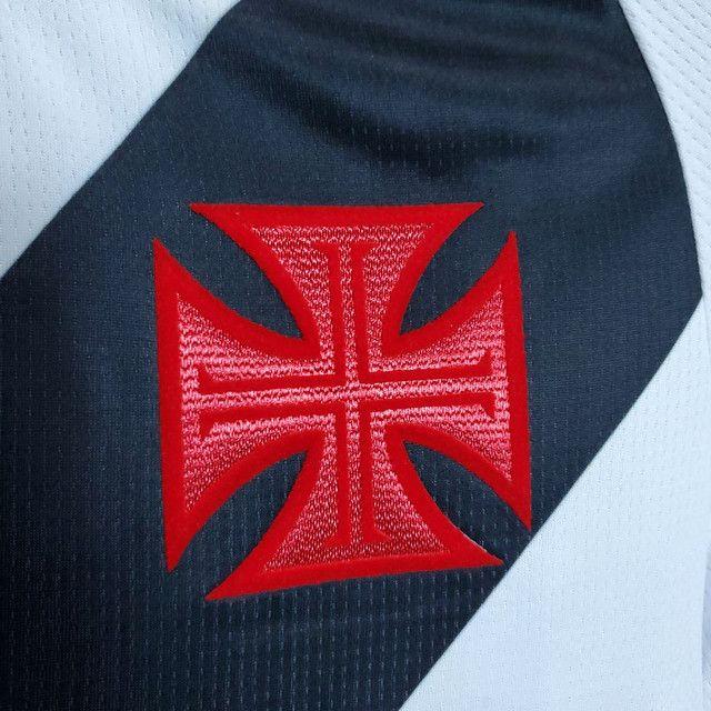 Camisa feminina Vasco Branca pronta entrega - Foto 3