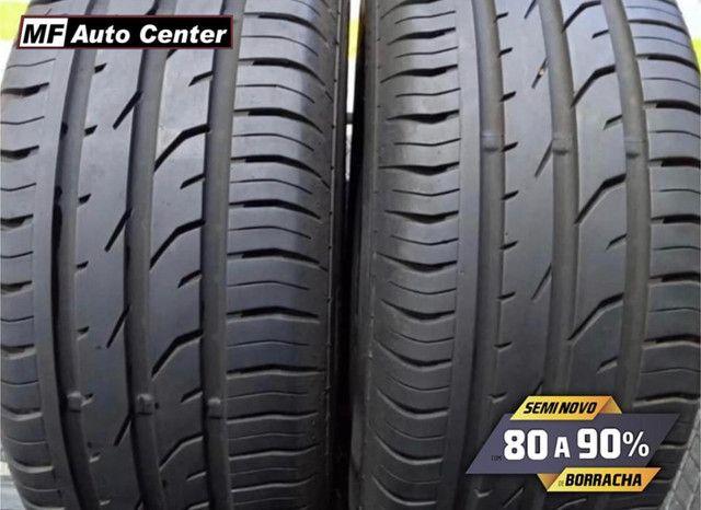 ?Pneus semi novos 205/55-16 Bridgestone - Foto 2