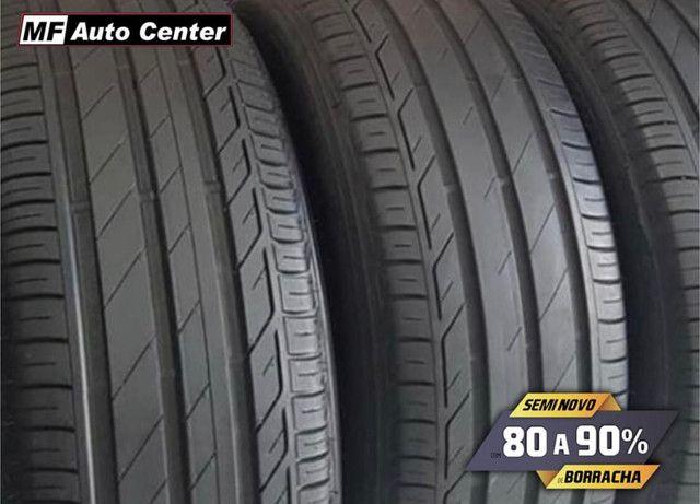?Pneus semi novos 205/55-16 Bridgestone - Foto 8