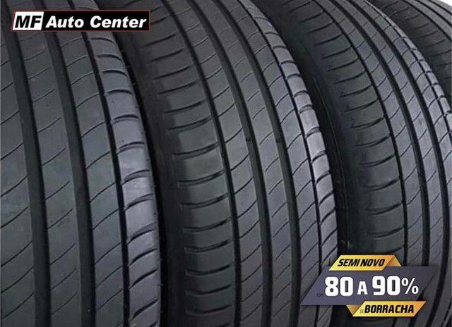 ?Pneus semi novos 205/55-16 Bridgestone - Foto 4
