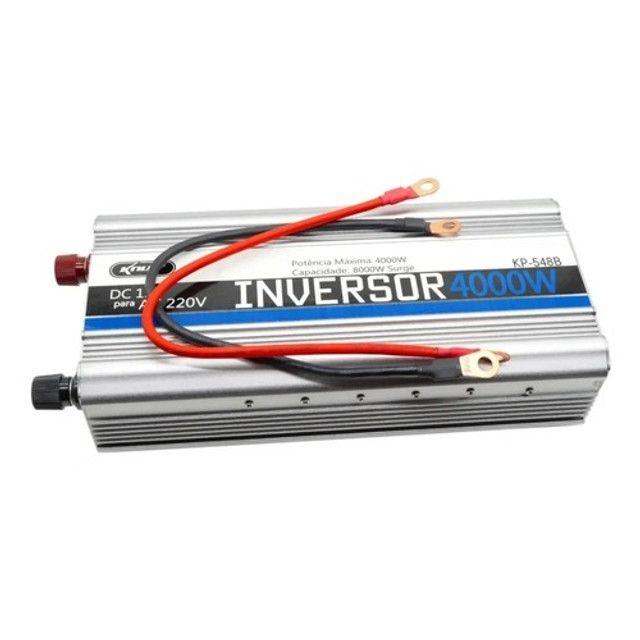 Inversor Para Motor 4000w 12v Para 220v - Foto 4
