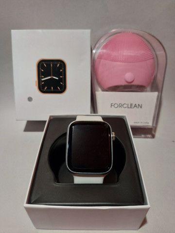 Relogio Smartwatch Inteligente Iwo 12 Lite W26 Tela Infinita - Foto 3