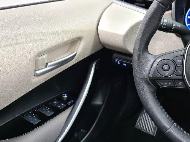 corolla altis premium hybrid 1.8 flex 2021 aceito troca - Foto 7